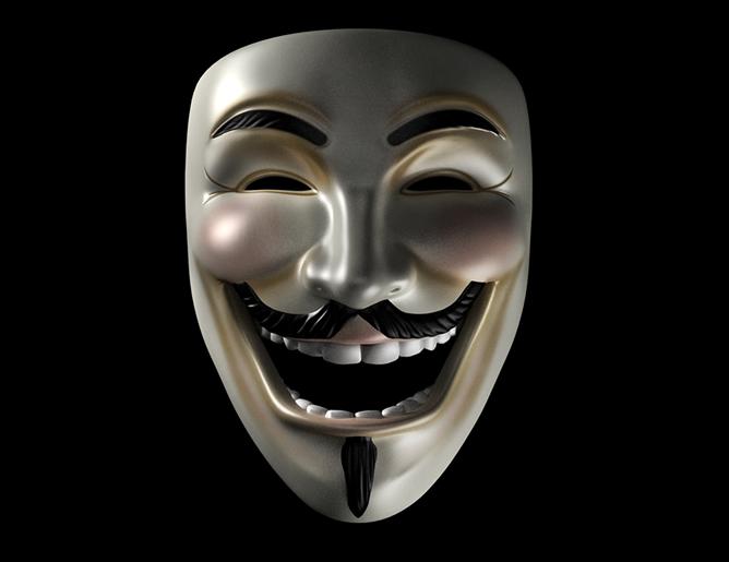 v for vendetta laughing